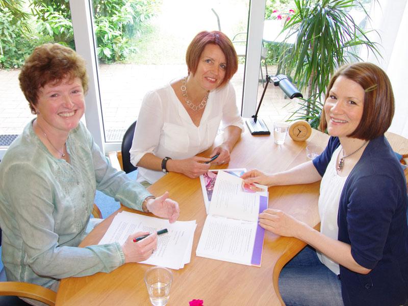 Uta Weber, Claudia Schilling und Nicole Siepe (v.l.n.r.)